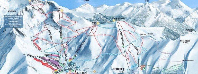 Trail Map Luz Ardiden