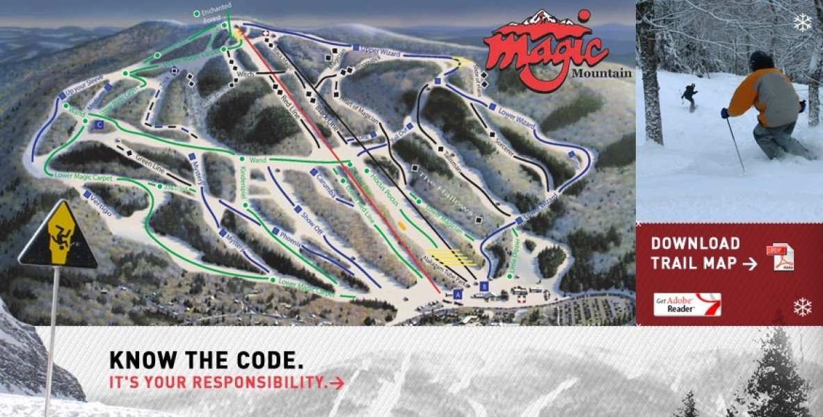 Photo Gallery Magic Mountain VT • Images