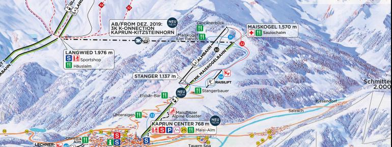Trail Map Maiskogel Kaprun