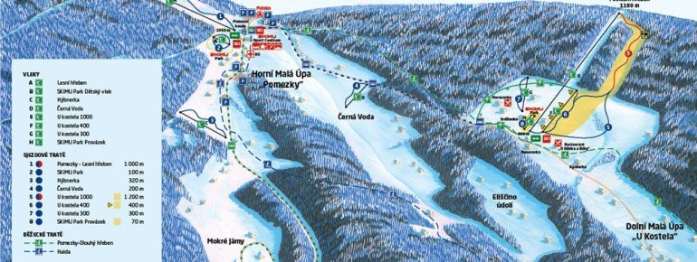 Trail Map Mala Upa