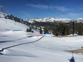 Some features of the Main Park terrain park.