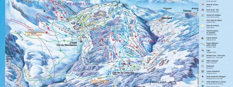 Trail Map Manigod