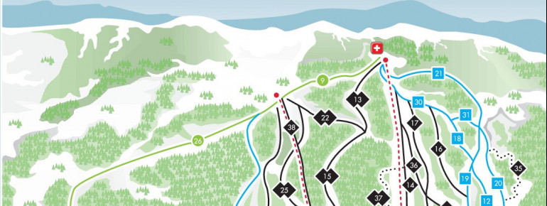 Trail Map Marble Mountain Resort