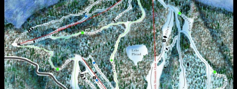 Trail Map Middlebury College Snow Bowl
