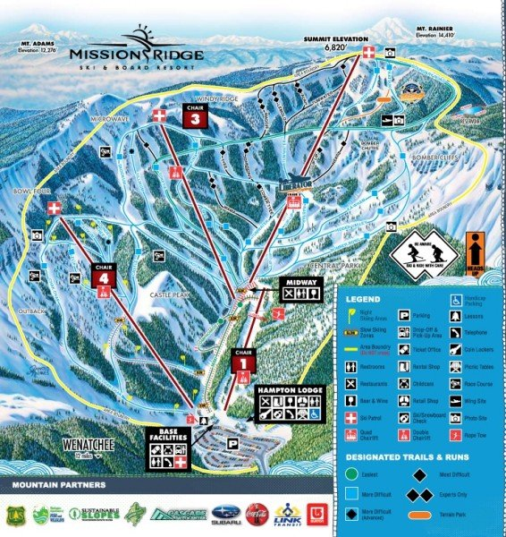 snowy ridge ski resort