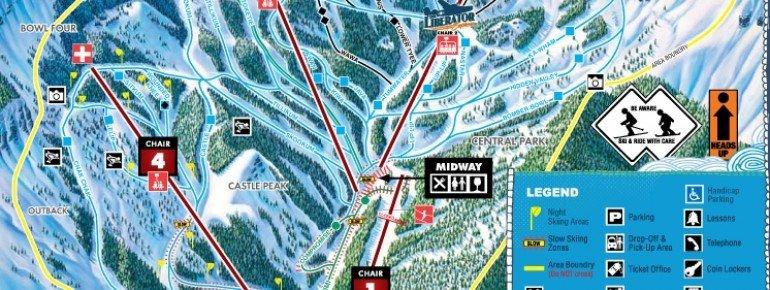 Trail Map Mission Ridge Ski Area