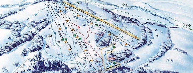 Trail Map Mlade Buky