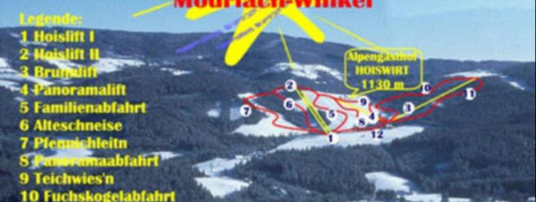 Trail Map Modriach Winkel