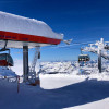 The Glacier Jet takes you to the highest point of the ski area at Schareck.