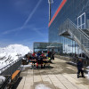 You can enjoy the sun and the view on the terrace of the Eissee restaurant.