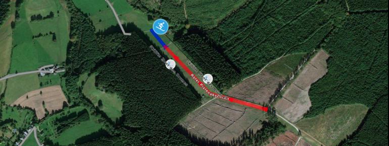 Trail Map Mont des Brumes - Franchorchamps - La Gleize