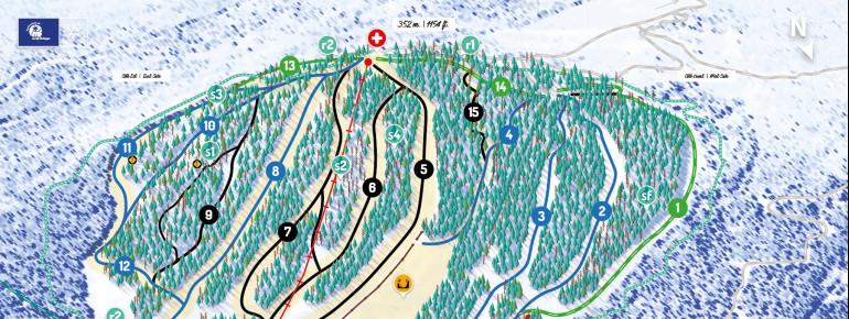 Trail Map Mont Farlagne
