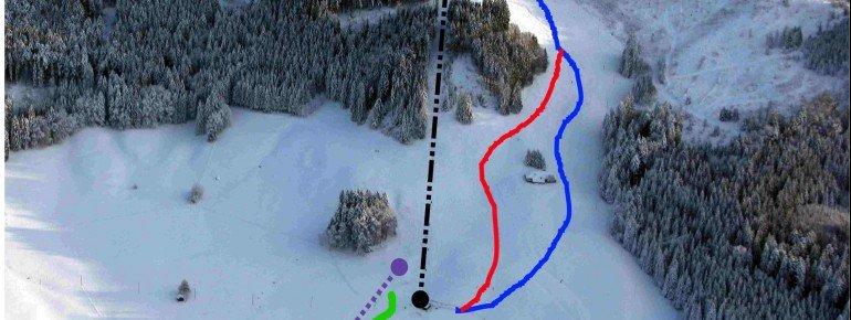 Trail Map Mont Gibloux