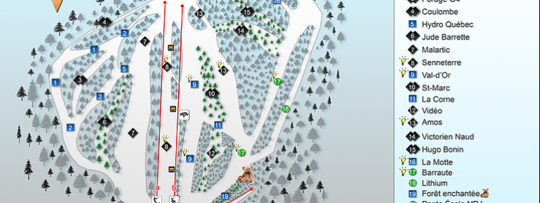 Trail Map Mont Video