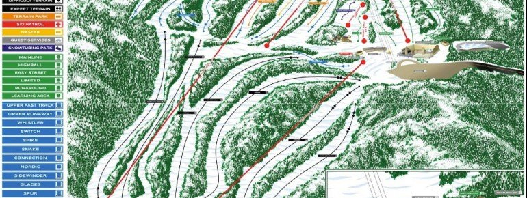 Trail Map Montage Mountain Resorts