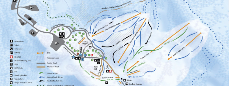 Trail Map Mount Baw Baw