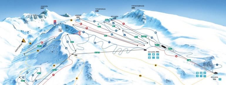 Trail Map Mount Parnassos
