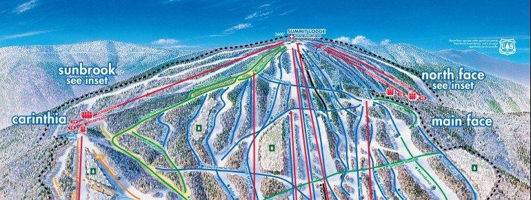 Trail Map Mount Snow