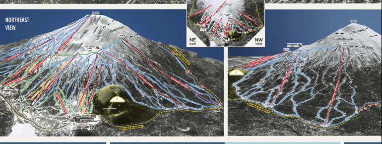 Trail Map Mt Bachelor