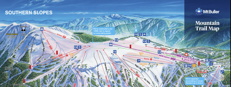 Trail Map Mt Buller