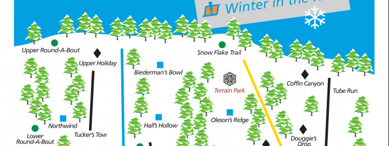 Trail Map Mt Holiday Ski Area