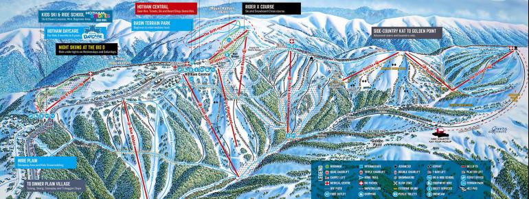 Trail Map Hotham Alpine Resort