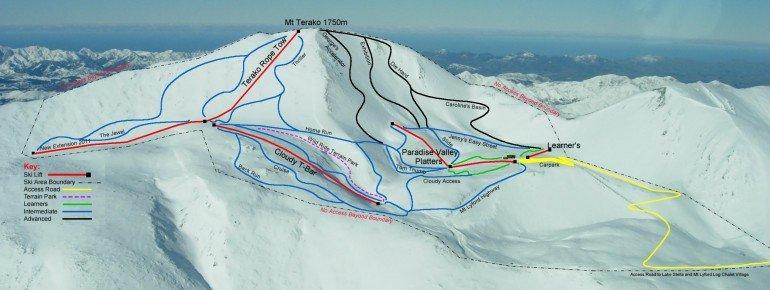 Trail Map Mt Lyford