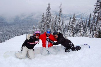 Nakiska guarantees winter fun for the whole family.