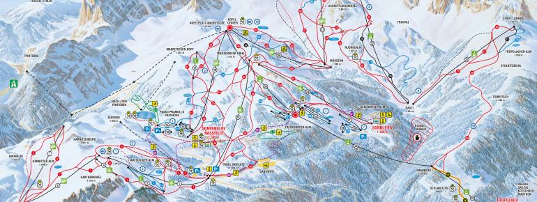 Trail Map Nassfeld Hermagor