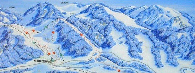 Trail Map Niederalpl