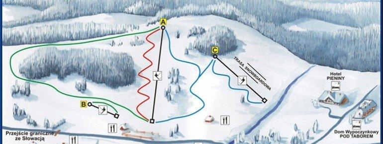Trail Map Polana Sosny