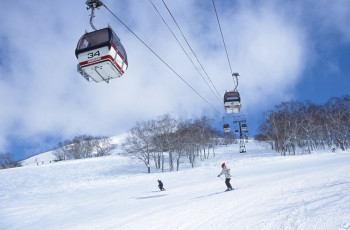 There are 30 lifts in the ski area, among them four gondolas.