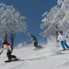 A large variety of runs prvides snowsport fun for everyone.