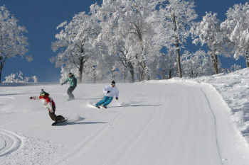 Nozawa Onsen is one of Japan's largest ski resorts and a true snow paradise.