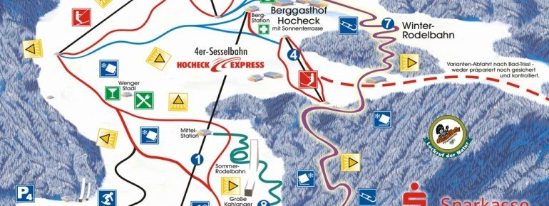 Trail Map Oberaudorf Hocheck