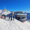 A perfect day on Nebelhorn mountain.