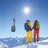 The summit cable car takes you up to 2,224 meters.