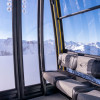 The old aerial tramway on the Nebelhorn has been replaced by 10-seater gondolas with seats