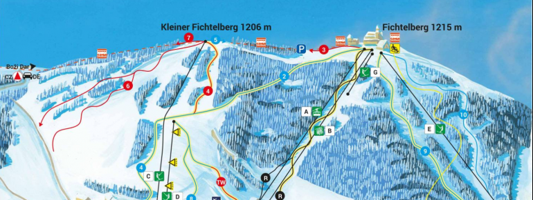 Trail Map Oberwiesenthal Fichtelberg