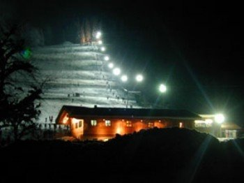 Daily floodlight - lift operation daily continuous from 9 - 22 hrs.