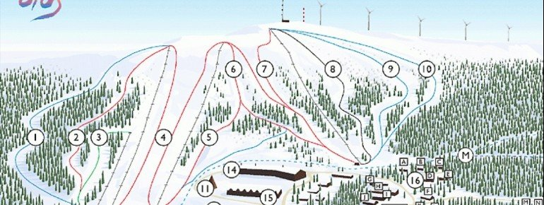 Trail Map Olos