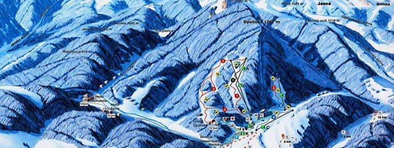 Trail Map Opalisko Zav Poruba