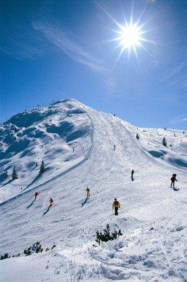 Beautiful view at slope Panoramica.