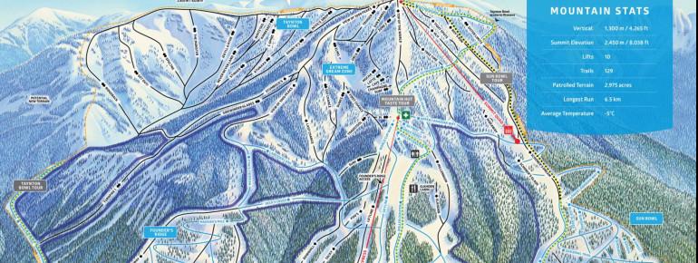 Trail Map Panorama Mountain Resort