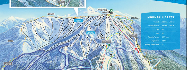 Trail Map Panorama Mountain Resort