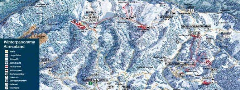 Trail Map Panoramalift Kathrein