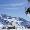 Wintersports enthusiasts are conveyed with 130 lifts.