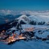 la Plagne is located at 2000 metres above sea level.