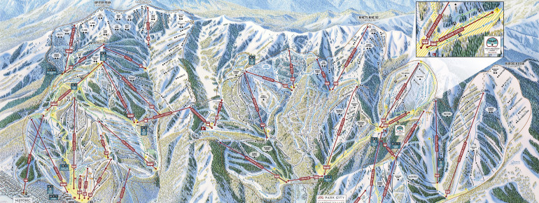 Trail Map Park City