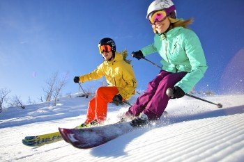 Park City is a true paradise for skiers of all skiing levels.